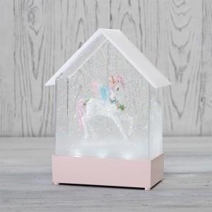 Декоративный светильник «Единорог» с конфетти и мелодией, USB NEON-NIGHT