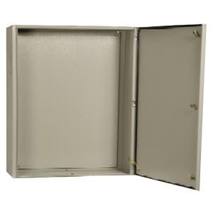 Щит металлический влагозащищенный ЩМП-1-0 74 У2 IP54, с монтажной платой 395х310х220 ИЭК