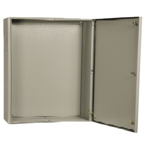 Щит металлический влагозащищенный ЩМП-2-0 74 У2 IP54, с монтажной платой 500х400х220 ИЭК