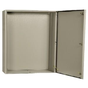 Щит металлический влагозащищенный ЩМП-3-0 74 У2 IP54, с монтажной платой 650х500х220 ИЭК