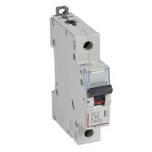 Автоматический выключатель Legrand DX3-E C10 1П 6000/6kA (автомат)