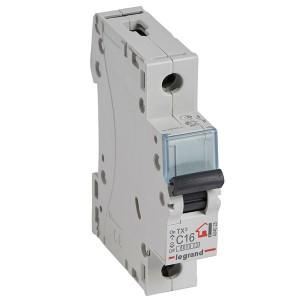 Автоматический выключатель Legrand TX3 C16A 1П 6kA (автомат)