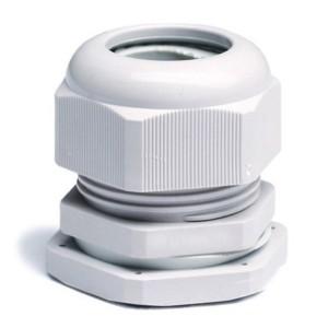 Зажим кабельный с контргайкой PG21 диаметр кабеля 13-18мм IP68 DKC