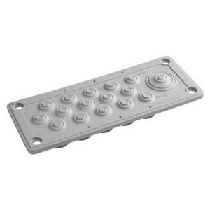 Кабельный ввод DKC пластик V0 UL94, IP54,  +130 - 40, 16 отверстий