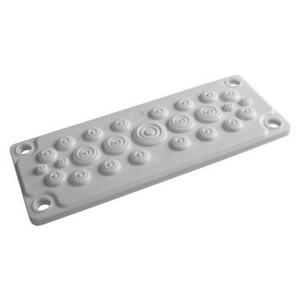 Кабельный ввод DKC пластик V0 UL94, IP65,  +130 - 40, 25 отверстий