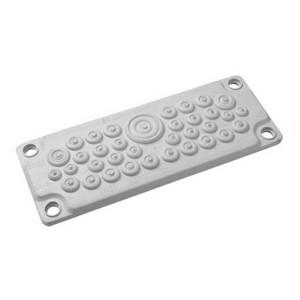 Кабельный ввод DKC пластик V0 UL94, IP65,  +130 - 40, 35 отверстий