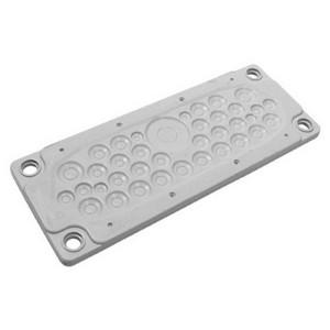 Кабельный ввод DKC пластик V0 UL94, IP65,  +130 - 40, 36 отверстий
