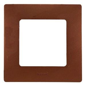 Рамка Legrand Etika 1 пост, какао