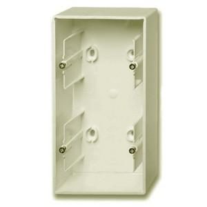 Коробка для накладного монтажа 2 поста ABB Basic 55 цвет шампань (1702-93)