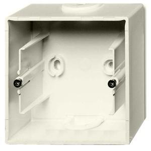 Коробка для накладного монтажа 1 пост ABB Basic 55 слоновая кость (1701-92) (бежевый)