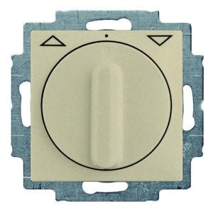 Выключатель для жалюзи поворотный без фиксации ABB Basic 55 цвет шампань (2723 UCDR-93-5)