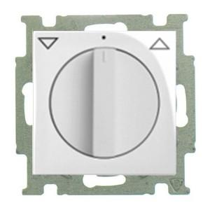 Выключатель для жалюзи поворотный без фиксации ABB Basic 55 цвет белый шале (2723 UCDR-96-5)