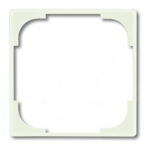 Вставка декоративная ABB Basic 55, цвет белый шале (2516-96)