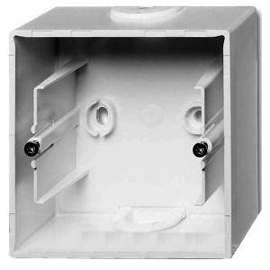 Коробка для накладного монтажа 1 пост ABB Basic 55 цвет белый шале (1701-96)