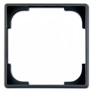Вставка декоративная ABB Basic 55, цвет черный (2516-95)