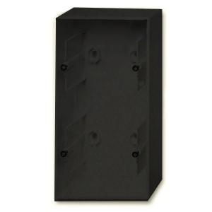 Коробка для накладного монтажа 2 поста ABB Basic 55 цвет черный (1702-95)
