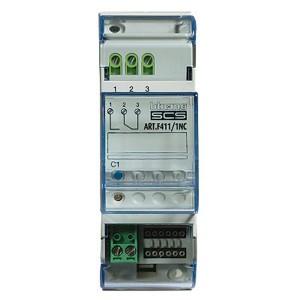 Активатор с одним релейным НЗ контактом 16А резистивная нагрузка 10А лампы накаливания Bticino