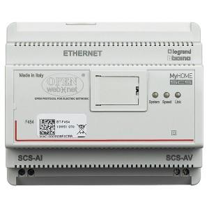 Веб сервер A/V Bticino DIN