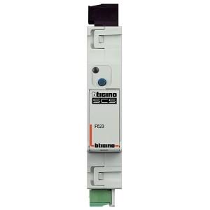 Активатор для управления подключенной нагрузкой (отключение/включение) 1 модуль Bticino My Home DIN