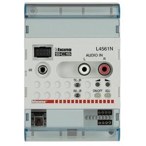 Блок управления внешней стереосистемой Bticino MyHOME LivingLight антрацит