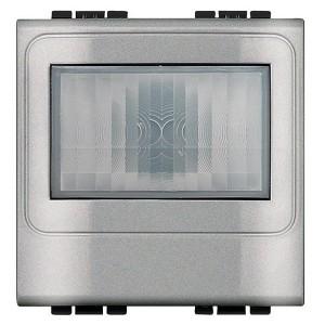 Датчик движения с датчиком освещенности Bticino LivingLight алюминий