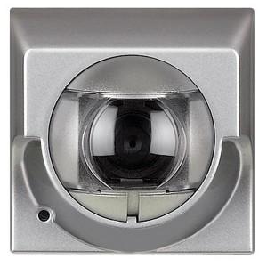 Axolute My Home 2-х проводная камера с микрофоном, цвет алюминий