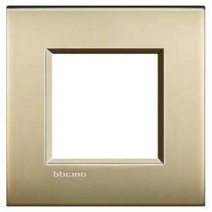 LivingLight Рамка AIR 1 пост, цвет Матовое золото