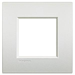LivingLight Рамка AIR 1 пост, цвет Белый жемчуг