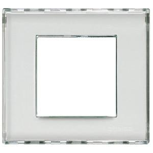 Рамка прямоугольная, 1 пост LivingLight Kristall