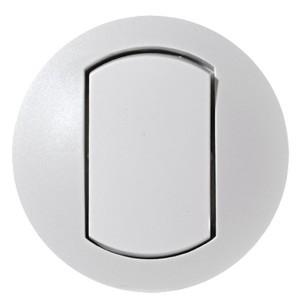 Накладка выключателя IP44 Legrand Celiane Белая