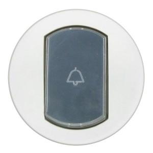 Накладка выключателя с держателем этикетки IP44 Legrand Celiane Белая