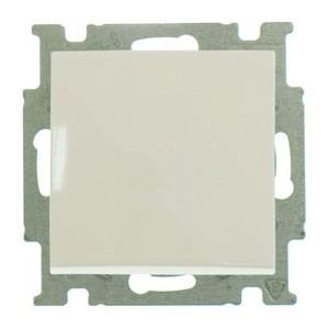 Выключатель кнопочный  ABB Basic 55 слоновая кость (2026 UC-92) (бежевый)