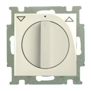 Выключатель для жалюзи поворотный без фиксации  ABB Basic 55 слоновая кость (2723 UCDR-92) (бежевый)