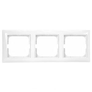 Рамка  ABB Basic 55 3 поста альпийский белый (2513-94)