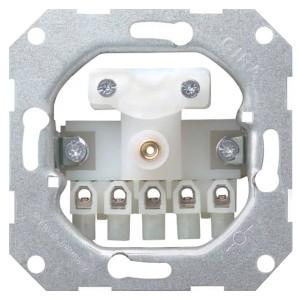 Вывод кабеля с 5-полюсным клеммником Gira System 55 механизм