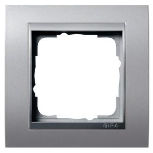 Рамка 1-ая Gira Event Алюминий цвет вставки Алюминий