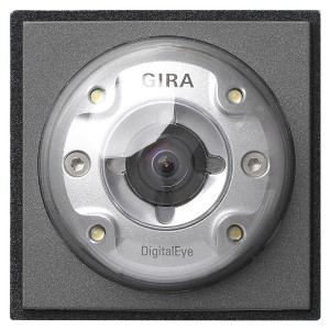 Видеокамера цветная для вызывной панели Gira TX_44 Антрацит