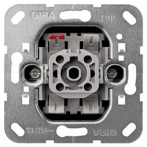 Выключатель кнопочный 1-клавишный 10А 250В Gira механизм