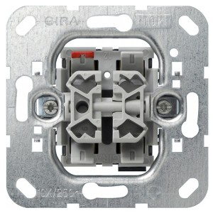 Выключатель жалюзийный кнопочный Gira механизм