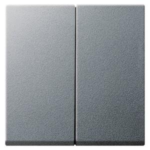 Клавиша 2-ая для выключателей и кнопок System 55 Gira алюминий