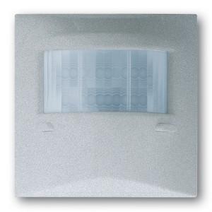 Датчик движения Сенсор-Комфорт 180 с мультилинзой ABB impuls серебристый металлик (6800-783-104M)