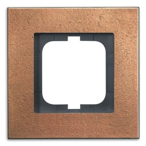 Рамка ABB Carat 1 пост бронза (1721-821)