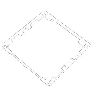 Fede Адаптор специальный для серий Fede -AS 316 ABS , белый