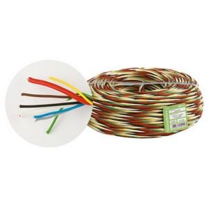 Fede W 8 - Витой кабель безгалогенный, сечение: 2 x 1 и 6 x 0.25 мм2, 100 м