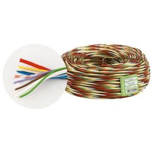 Fede W 10 - Витой кабель безгалогенный, сечение: 2 x 1 и 8 x 0.25 мм2, 100 м
