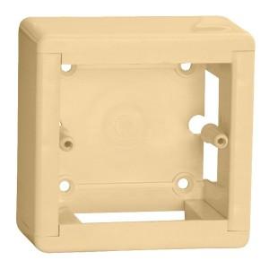 Коробка универсальная КМКУ 88х88х44 ЭЛЕКОР слоновая кость