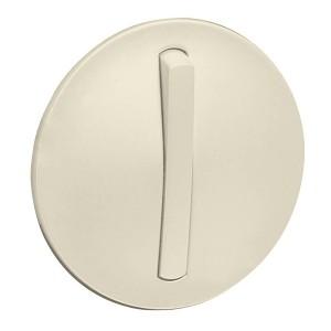 Накладка 1-клавишного выключателя с кольцевой подсветкой Legrand Celiane слоновая кость