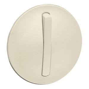 Накладка 1-клавишного тонкого выключателя slim (арт.:067002, 067032) Legrand Celiane слоновая кость