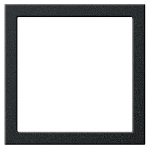 Монтажная рамка для акустических,usb,hdmi розеток System 55 Gira черный матовый