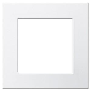 Монтажная рамка для акустических,usb,hdmi розеток F100 Gira белый глянцевый